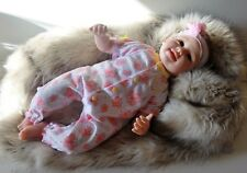 Ashton Drake Butterfly Kisses & Flower Petal Wishes Baby Doll by Linda Murray