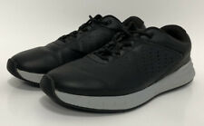 Walter Hagen Course Casual Ortholite Golf Shoes Black Leather Men's Size 10.5W