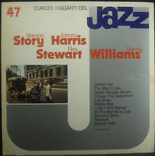 LP VERNO STORIA / JOHNNY HARRIS / REX STEWART / SANDY WILLIAMS - i giganti jazz