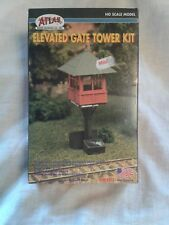 ATLAS MODEL RAILROAD COMPANY ELEVATED GATE TOWER HO Scale Building Kit