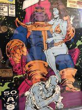 Silver Surfer #56 CGC 9.8 Starlin Thanos Drax 1991 Adam Warlock Appearance