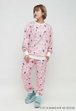 Harajuku kawaii galaxxxy Hello Kitty Sweat shirt and pant Set