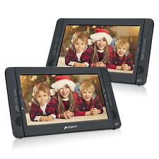 "10.1"" Dual Screen Portable DVD Player Ultra-thin TFT Car Headrest Media Player"