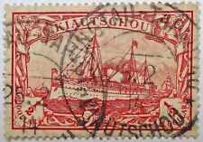 German Post in China- Kiautschou: Half Dollar, used