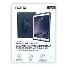 Incipio Capture Case Rugged Protection W/Screen Guard Hand Strap For iPad Air 2