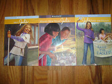 Lot of 3 Books AMERICAN GIRL Meet Julie & Happy New Year & and Eagles RETIRED !!