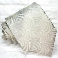 Cravatta design grigio Nuova 100% seta Made in Italy handmade Morgana marca