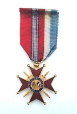 WW2 Full size Franco British Association Cross Military Medal