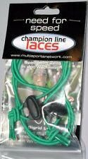 """Elastic Shoe Laces Quick Transition Cord 28"""" Green"""