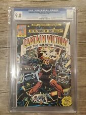 Captain Victory 1 Cgc 9.8 Nm/Mint White Pages 1st Appearance Jack Kirby New Gods