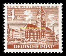 EBS West Berlin 1949 Berlin Buildings (I) - Schöneberg Town Hall Michel 43 MNH**