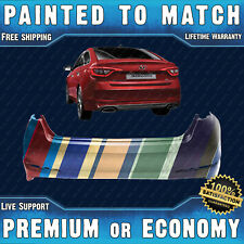 NEW Painted To Match Rear Bumper Replacement for 2015-2017 Hyundai Sonata w/Park