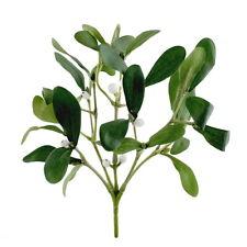 Mistelbusch mit Mistelbeeren, 5 Triebe, grün, 25cm komplett, künstlich