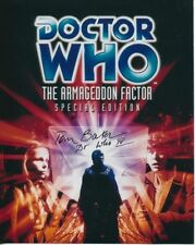 Dr Who Certified Original Collectable Autographs