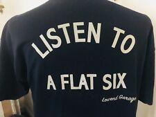 XXL Listen to a Flat Six T-shirt Lowend Garage Chicago pcar porsche 911