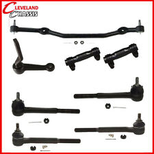 8 Pc Steering Kit Center Link Tie Rod End Idler Arm Chevelle Special 68-70