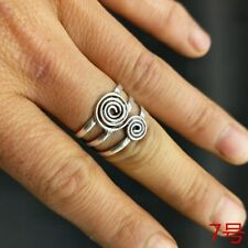 handmade Miao silver ring 1piece National wind original personality retro pure