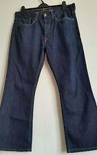 Levi's Para Hombres Jeans Denim Azul Talla W34 L32