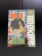 MICHAEL JORDAN ~ 1994 Upper Deck Baseball Rookie Card RC #19 ~ Grade: NM-MT