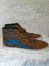 VANS California Off the Wall unisex Leather High Top Skater Tennis Shoes Sz M 8