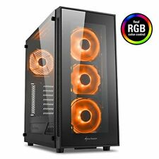Sharkoon Tg5 Case Gaming MIDDLETOWER ATX microATX MiniITX 2xusb 2.0 233540