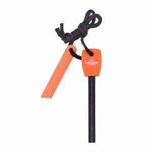 Fire Starter Lighter Magnesium Flint Steel Striker Stick Camping Survival Tool