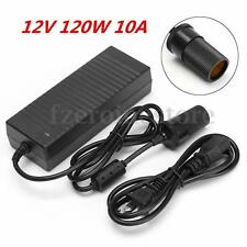 10A Cigarette Lighter Socket 240V Mains to 12V DC Car Charger Power Adapter 120W