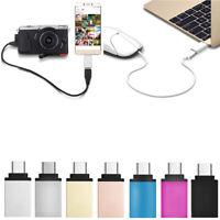 Adaptateur Type C Pour Usb-A 3.0 Femmes Convertisseur OTG USB 3.1 Mac Nexus 5X