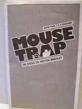 MOUSE TRAP Board Game Replacement Part  Milton Bradley 1986 Instructions Spanish