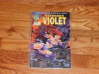 Extremes of Violet #0 1995 Blackout Comics Comic Book In Plastic