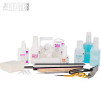 The Edge NAILS Full Fibreglass and Silk Starter Kit + BAG False Tips Student Kit