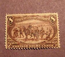 US Stamp Scott# 289 Troops Guarding Wagon Train  Mint 1898 L40