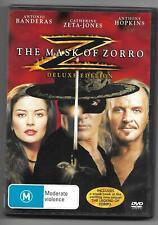 (Mask of Zorro)- Antonio Banderas/Anthony Hopkins/Catherine Zeta-Jones- D0-DVD
