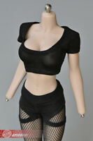 1/6 Female Sports Vest Crop Top T-shirt Clothing For 12'' Phicen Figure Doll