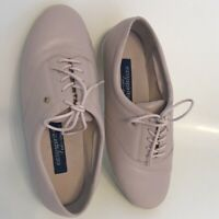 Easy Spirit Motion Womens Shoes Size 7 D/b Pink Leather Anti-Gravity Oxford