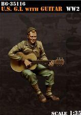 Bravo6 1:35 US G.I. With Guitar - Resin Figure #B6-35116