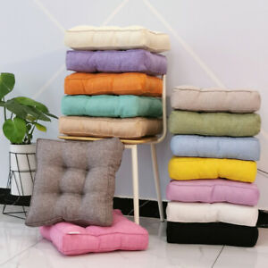 Thick Square Home Chair Seat Cushion Pad Throw Pillow Floor Mat Sofa Office Home