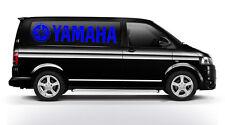100CM X 23CM BLUE YZF YZ R1 R6 TY TRIALS MOTOX BIKE LOGO DECAL STICKER VAN CAR