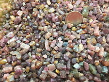 LOT!! 100CT.ROUGH Mix Color Red/Purple RUBY SAPPHIRE GENUINE NATURAL Unheated