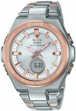 Baby-G Casio Watch Baby Gee G-MS Radio Solar MSG-W200SG-4AJF Ladies