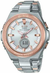 Baby-G Casio Watch Baby Gee G-MS Radio Solar MSG-W200SG-4AJF Ladies