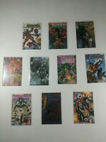 Lot Of 10 Image Comics Bloodstrike Ballistic Youngblood Knightmare Warlands