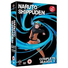 Naruto Shippuden Complete Series 1 DVD All Episode First Season UK Release NEW