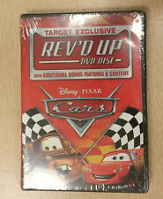 CARS Rev's Up Target Exclusive DVD Bonus Disc Disney Pixar SEALED New 2006