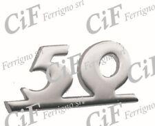 SCRITTA '50' SCUDO ANTERIORE TIPO ORIGINALE 610288M VESPA 50 SPECIAL 1970