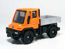New ListingTomica 1:88 Scale Mercedes-Benz Unimog Orange Diecast Miniature Car Takara tomy