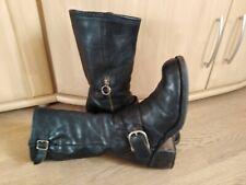 Fiorentini + Baker Biker Stiefel in schwarz Leder Gr. 39/40