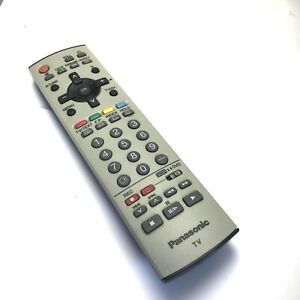 Panasonic TV Remote Control VCR DVD Television (Missing Back Cover)