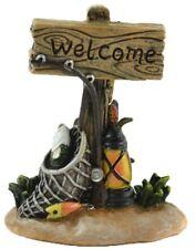 Fishing 'Welcome' Sign MI 56086 Miniature Fairy Garden