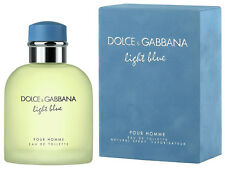 Dolce & Gabbana LIGHT BLUE Men's Natural Spray POUR HOMME FRAGRANCE 1.3 OZ 40 mL